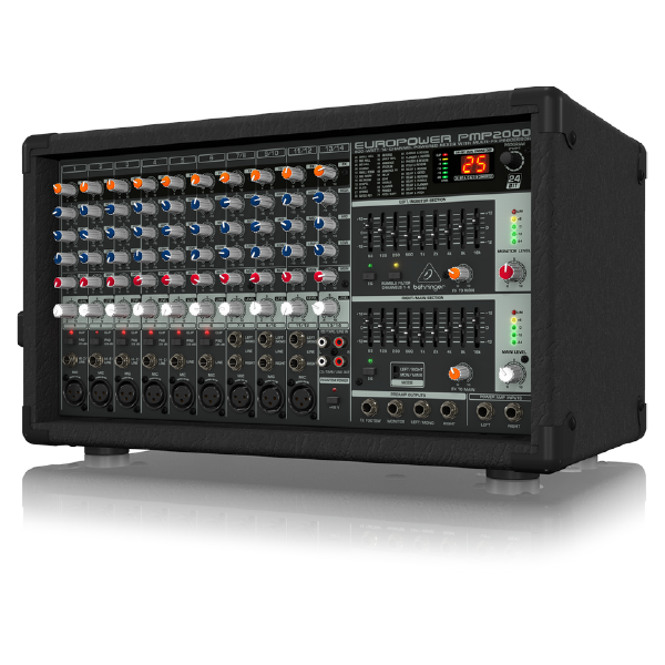 behringer powered mixer eropower pmp2000 powered mixers maxmeen. Black Bedroom Furniture Sets. Home Design Ideas