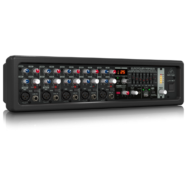 Behringer Powered Mixer EROPOWER PMP550M Right Maxmeen