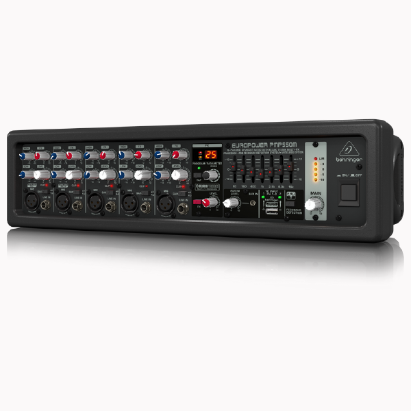 Behringer Powered Mixer EROPOWER PMP550M left Maxmeen