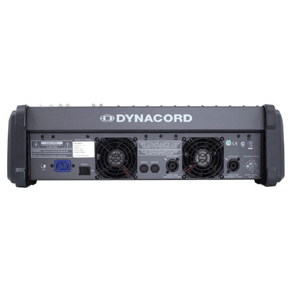 Dynacord Powermate 1000-3 Rear Maxmeen