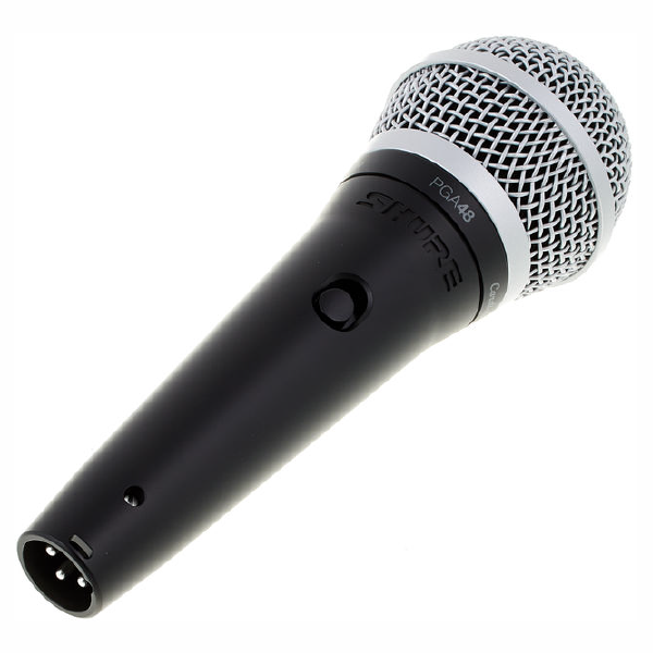 SHURE VOCAL MICROPHONE PGA48 Left