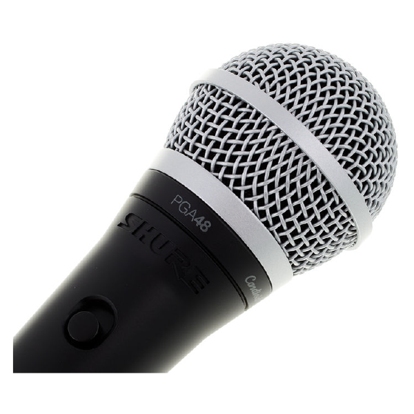 SHURE VOCAL MICROPHONE PGA48 Top