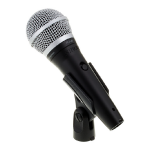 SHURE VOCAL MICROPHONE PGA48 with holder