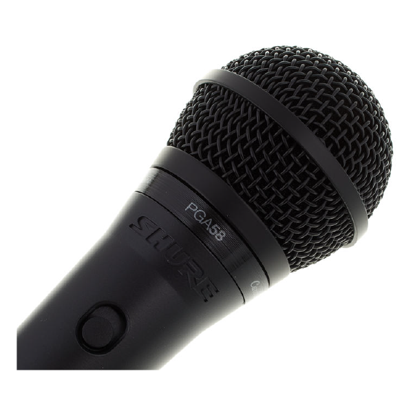 SHURE VOCAL MICROPHONE PGA58 Top