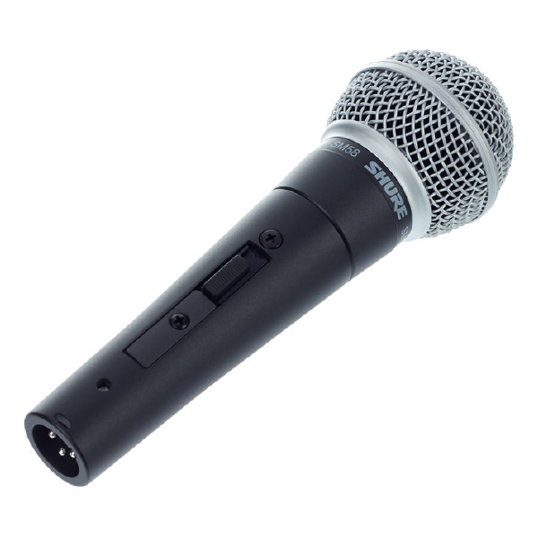 SHURE VOCAL MICROPHONE SM58 Left