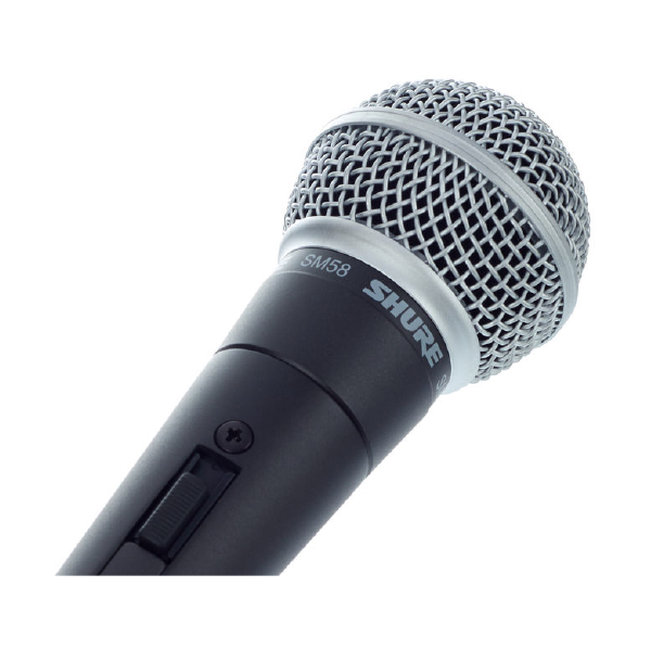 SHURE VOCAL MICROPHONE SM58 Top