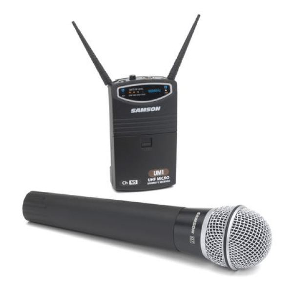 SAMSON UM1/77 HANDHELD WIRELESS CAMERA MICROPHONE