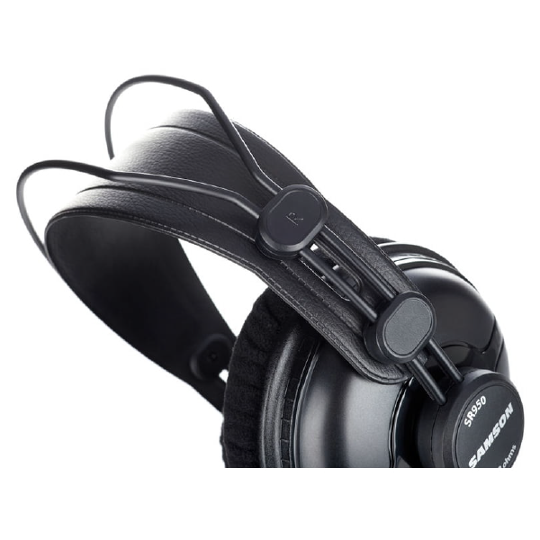 SAMSON SR950 Professional Studio Reference Headphones headband o