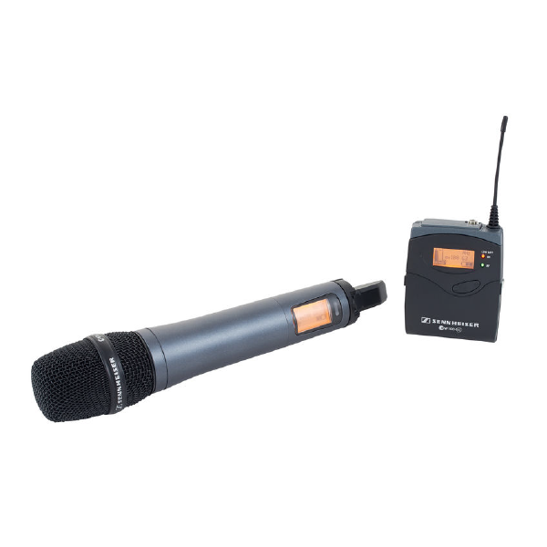 SENNHEISER EW-135P WIRELESS CAMERA MICROPHONE SYSTEM