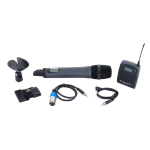 SENNHEISER EW-135P WIRELESS CAMERA MICROPHONE SYSTEM Packge