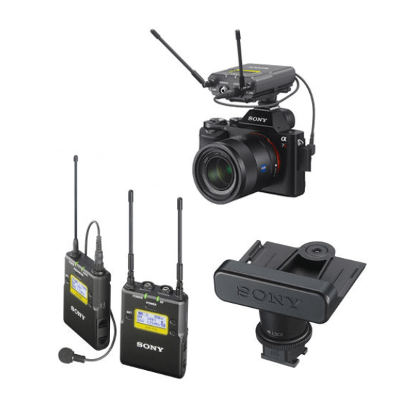 SONY UWP-D11 WIRELESS CAMERA MICROPHONE SYSTEM with Camera