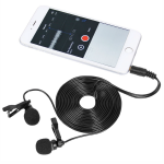 TONOR DUAL CONDENSER MOBILE MICROPHONE with Iphone
