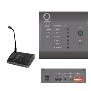 Maxmeen Remote Paging Microphone, MG-R6000